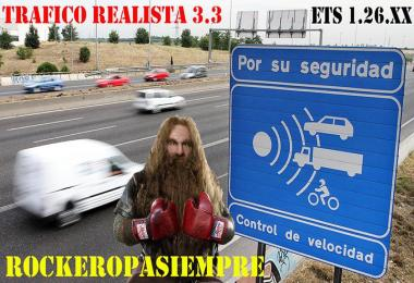 Realistic traffic v3.3 by Rockeropasiempre for 1.26.x
