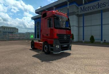 Mercedes Benz Actros MP2 1.23-1.26