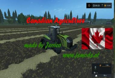 Canadian Agriculture map v1.2.0