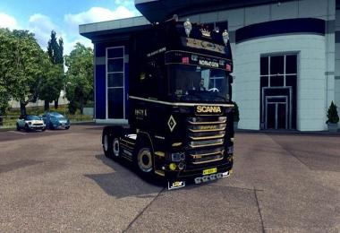 Scania R500 HCN with Schmitz Trailer v1.0