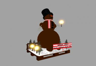 African American Snowman v1