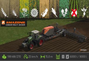 Amazone Condor Multi Seeder v1.2