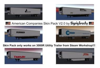 American Companies 3000R Utility Skin Pack v2.0