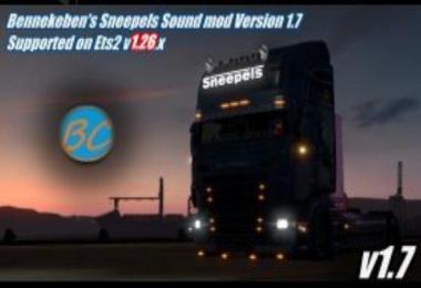 Bennekeben's Sneepels V8 Sound mod v1.7
