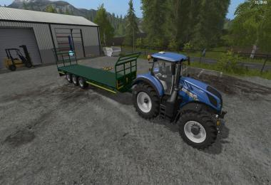 Broughan 36 Foot Bale Trailer v1.0.0.0