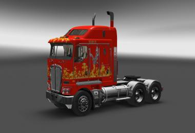 Eagle skin for Kenworth K200 v1.0