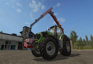 Epsilon Palfinger M80F Mounted Crane for Tractors v1.4