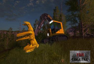 FDR Logging - Feller Buncher