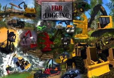 FDR Logging - Forestry Equipment v4