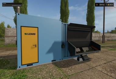 Heating plant for wood chips and silage v1.3.0.1