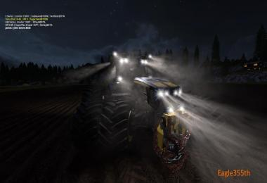 John Deere 8530 Black Shadow Pack V2.1 By Eagle355th