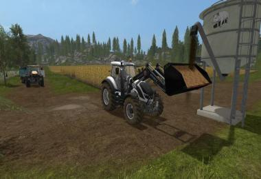 Light materials for front loader v1
