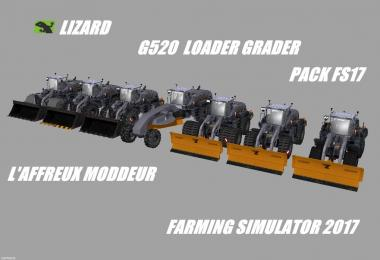 Lizard G520 Loader Grader Pack V1.0