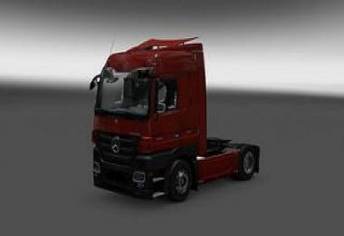 Mercedes Actros MP3 Reworked v1.5 + DLC 1.26.x - 1.26.1s