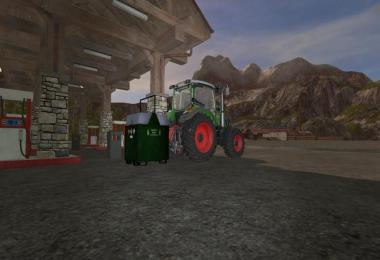 Mobile 800L diesel tank for the forest v1.1