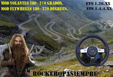 Mod for steering wheel of 180-270 Degrees 1.26.x