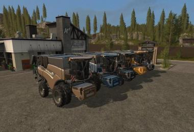 New Holland CR10.90 paint and chassis choice v1.0.2
