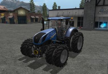 New Holland T7 Dual Wheels v1.0