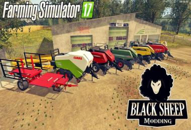 Pack Balestacker Reman and Baler v1.0.2 Fix And Particles