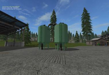 Placeable FS17 seeds and fertilizer Silo v1.0