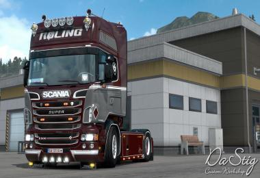 Rolinng skin for Scania RJL v1.0