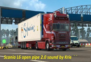 Scania L6 Open Pipe v2.0
