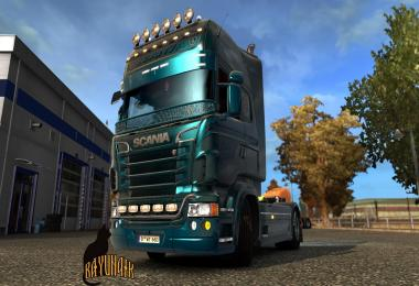 Scania R&S Topline  Custom metallic skin 1.26