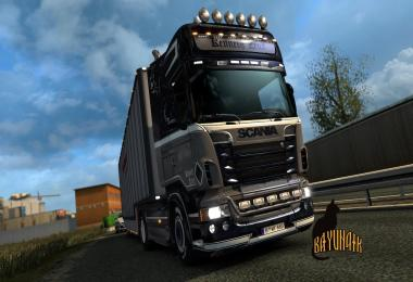 Scania R&S Topline Kenneth Zeus skin 1.26