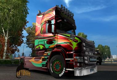 Scania T series Topline Abstract skin 1.26
