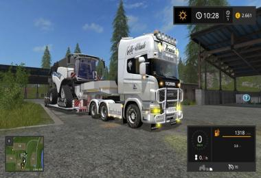Scania V8 Old School v1.0