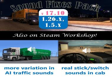 Sound Fixes Pack v17.10 for ATS