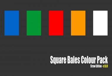 Square Bales Colour Pack (straw edition) v1.0