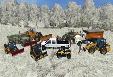 Winter Snow Mod FS15 v1.1
