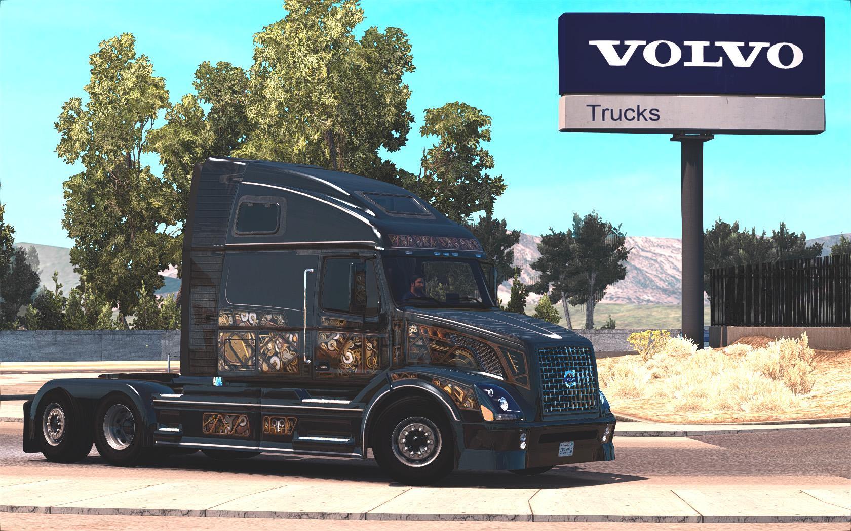 Volvo VNL670 v1.5.1 by Aradeth