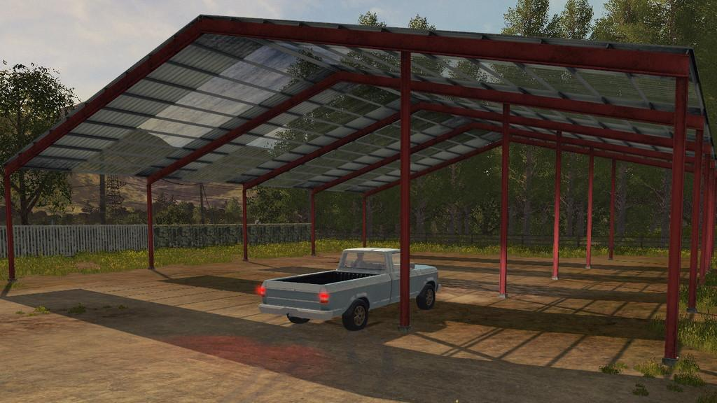 Metal Vehicle Shelters : Beiser vehicle shelter metal v modhub
