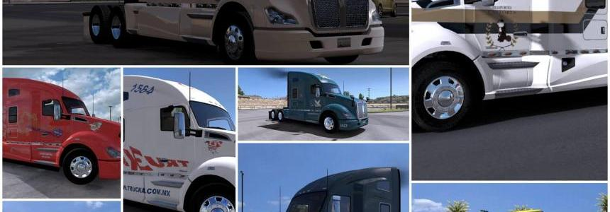 Pack Skin Kenworth t680