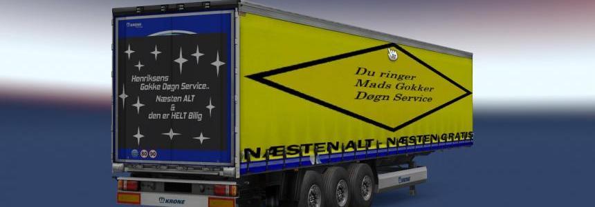 Trailer Krone Profi Liner Mads Gokker limited edition