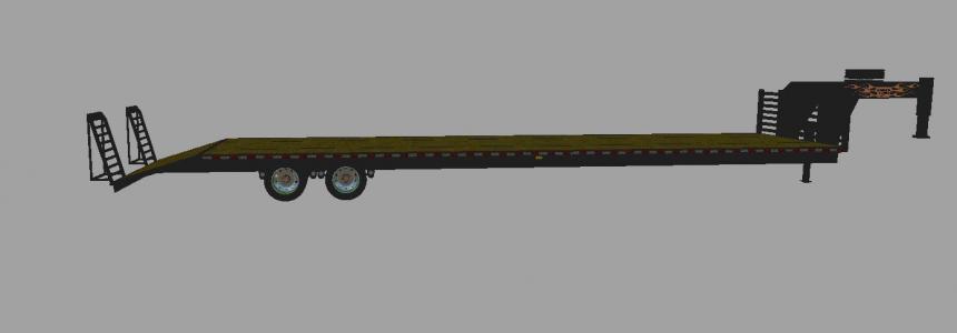 40 foot Gooseneck flatbed v1.0