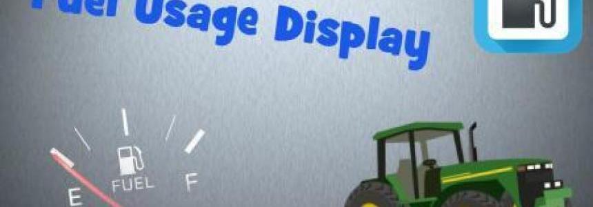 FUEL USAGE DISPLAY v1.0