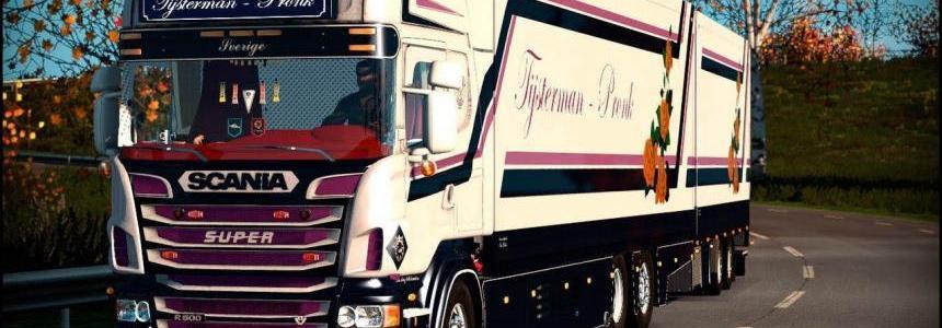 SCANIA R500 TIJSTERMAN Truck - Tandem