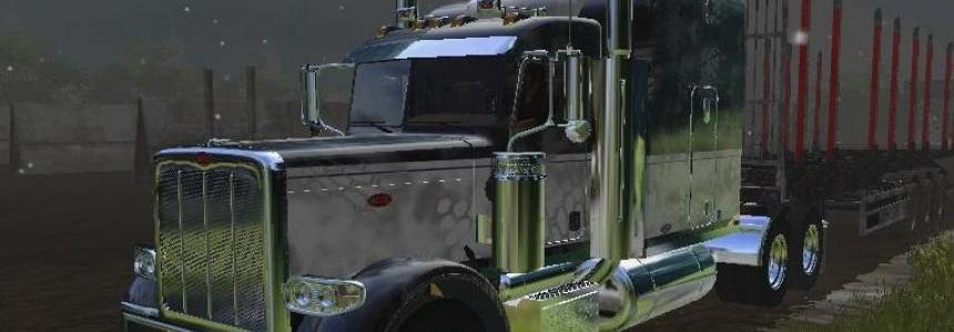 Kryptek Peterbilt W/Autoload Flatbed Trailer v1.0