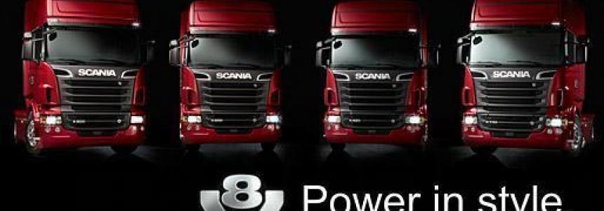 Scania V8 Real Sound 1.26