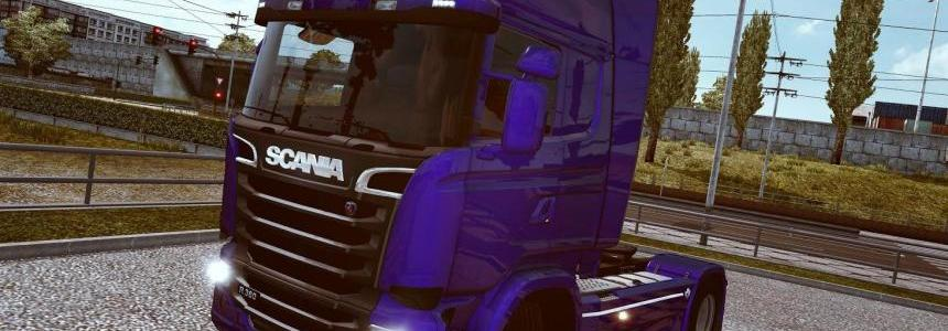 Black Grille on all Engine Scania S v1.0