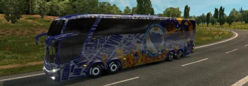 Bus Marcopolo G7 1600LD Bosnia and Herzegovina Skin v1.26