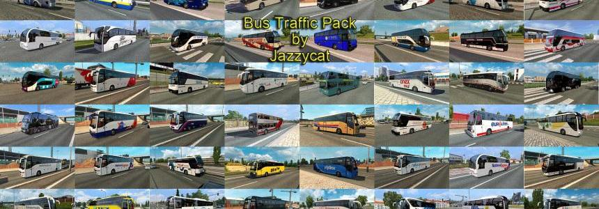 Bus Traffic Pack by Jazzycat v1.7