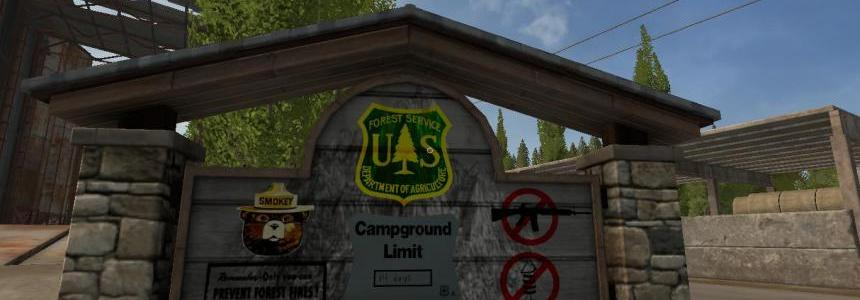 Camping Pack Mod#1 – Placeable objects v1.0