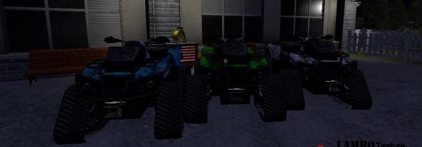 CanAm ATV Kryptek 3 Pack v0.9.0.2