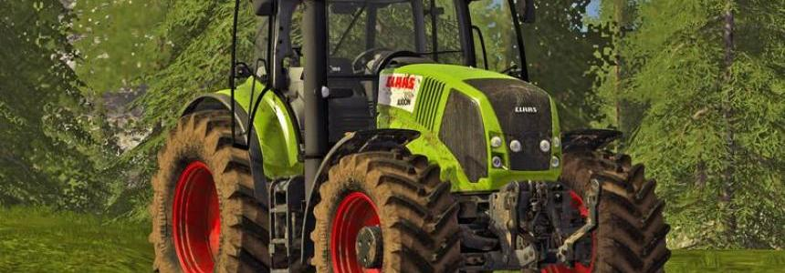 Claas Axion 800 (810, 830, 850) v1.0