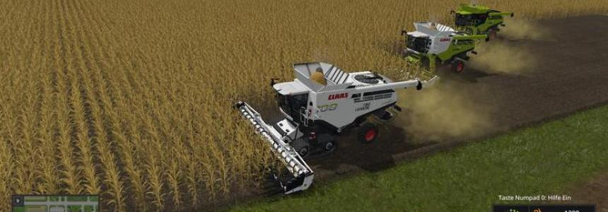 Claas Lexion Pack 3 versions v1.0