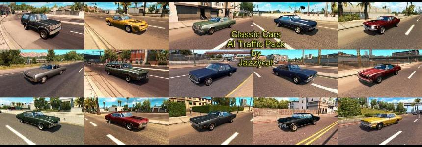 Classic Cars AI Traffic Pack by Jazzycat v1.2